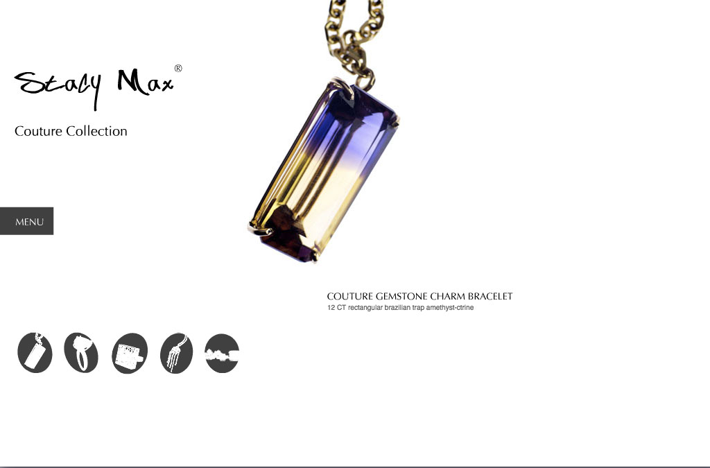 Stacy Max Jewelry Collection Website