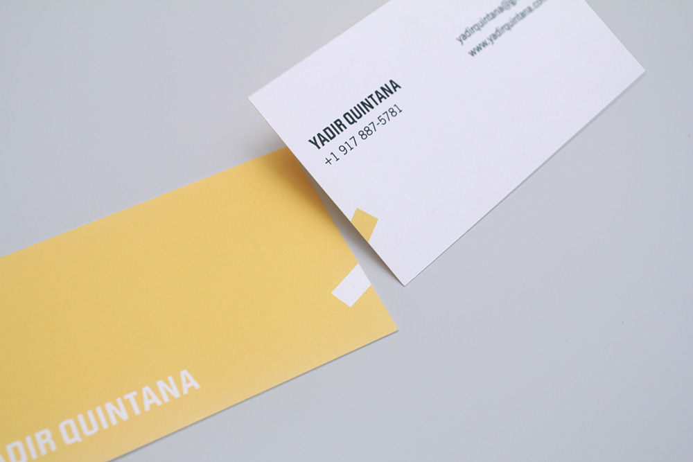 Yadir Quintana Business Card